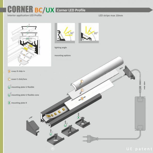 CORNER MANUAL ROLLX