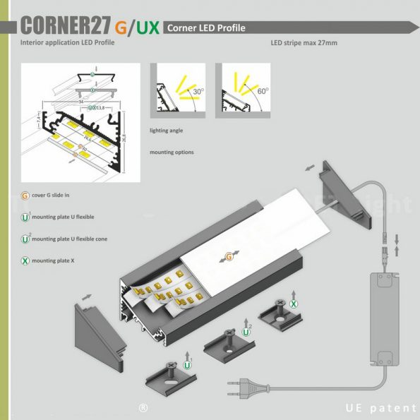 CORNER27 MANUAL ROLLX
