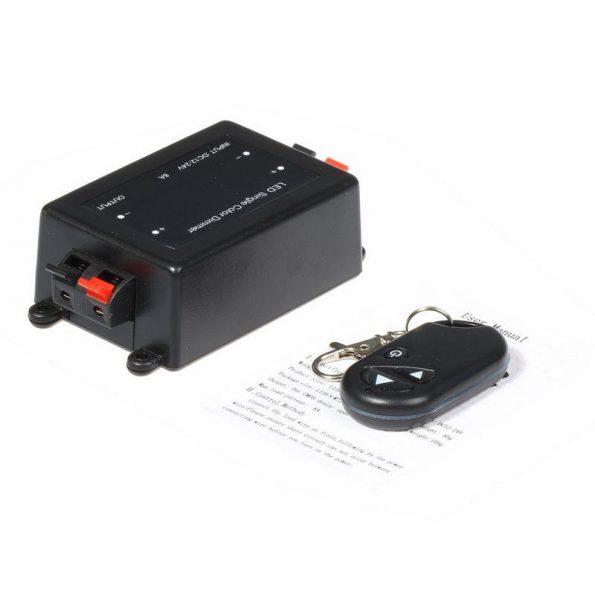 Dimmer RF τηλεχειριζόμενο για LED 12V-24V DC